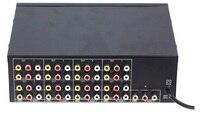 Freeshipping 1 Entrada 16 Caps de Saída AUDEO VÍDEO 16 load video audio amp spliter RCA Conector AV Splitter
