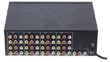 Freeshipping 1 Input 16 Chs VIDEO AUDEO Output 16 load video audio amp spliter RCA Connector AV Splitter