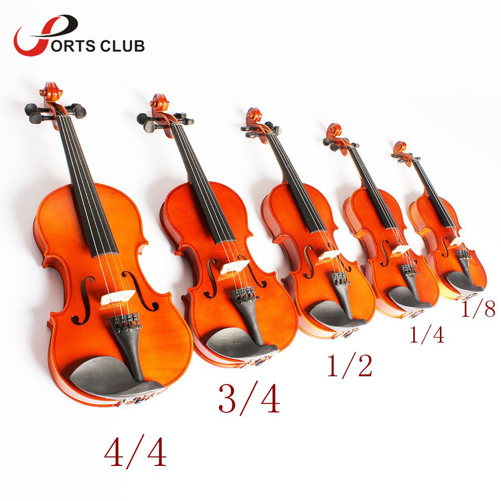 Toy Violins For 3 And Up : High quality violin fiddle basswood