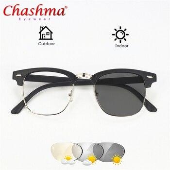 88e49f4ae9 Gafas de sol de transición CHASHMA gafas de lectura fotocromáticas gafas de  presbicia para hombre y mujer ...