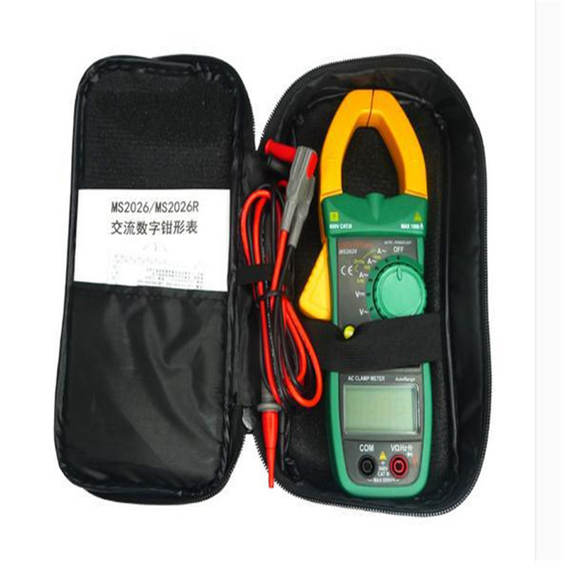 ФОТО MASTECH MS2115A DIGITAL DC AC Clamp Meters Multimeter True RMS Voltage Current Resistance Capacitance 1000A Tester