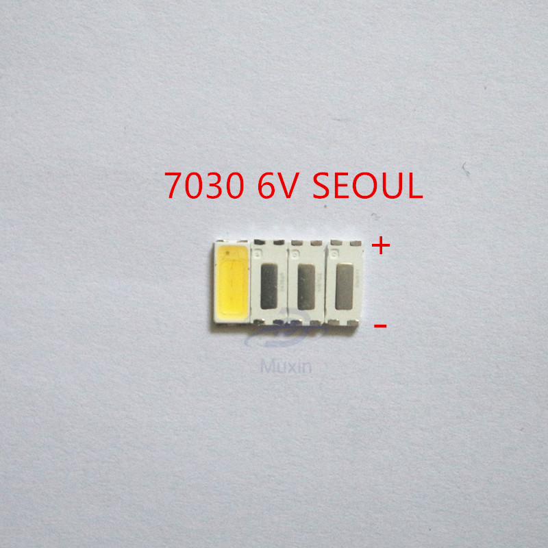 Diodes 1000piece For Repair Sony Toshiba Sharp Led Lcd Tv Backlight Seoul Smd Leds 7030 6v Cold White Light Emitting Diode Stwbx2s0e Back To Search Resultselectronic Components & Supplies