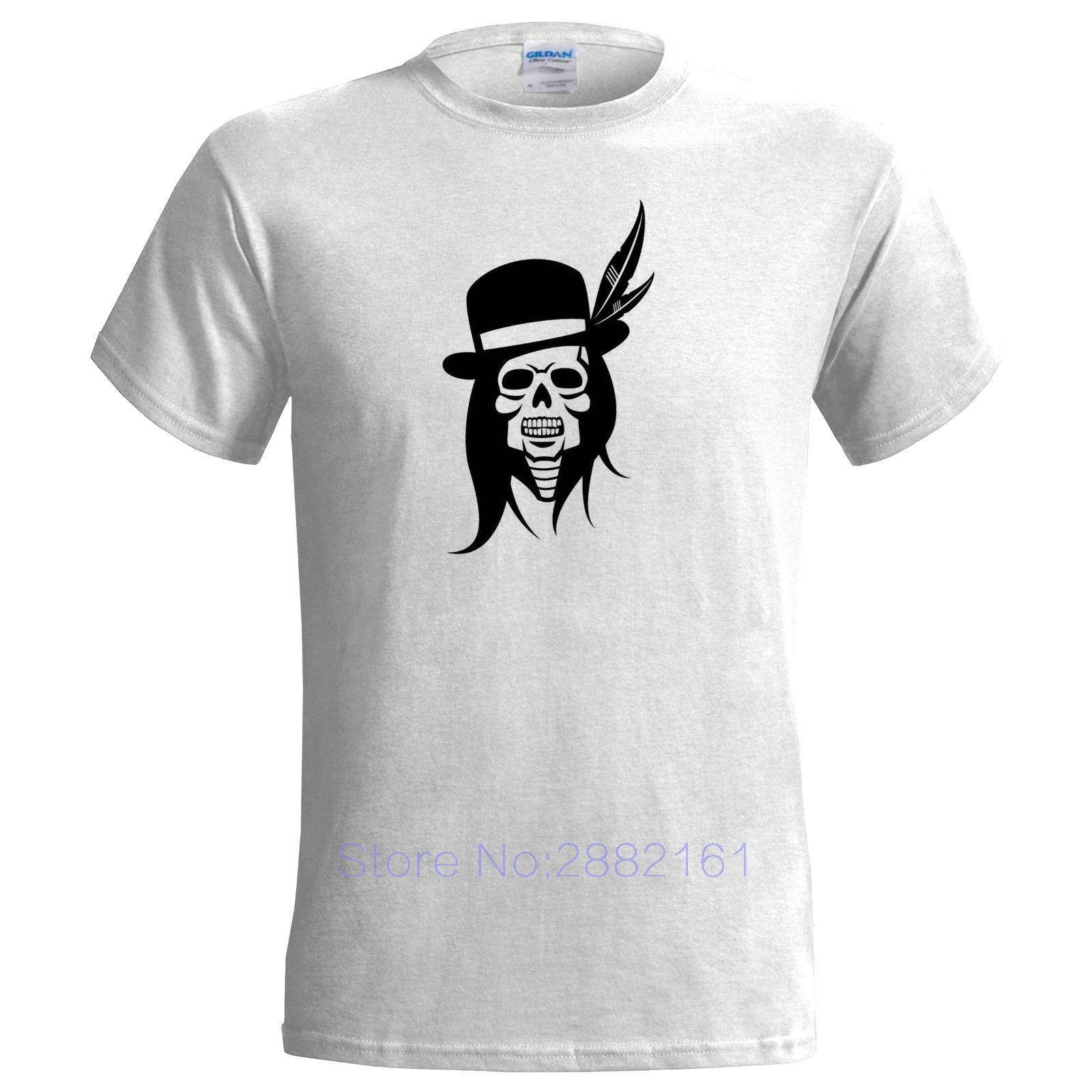 Design t shirt price - Mens T Shirts Fashion 2017 Cool Indian Chief Skull Design Mens T Shirt Rock Native American