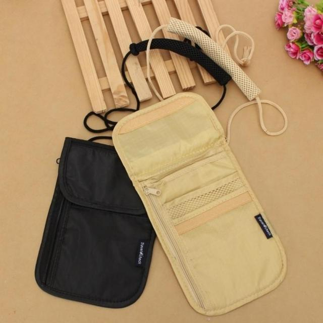 Nylon Travel Documents Organizer