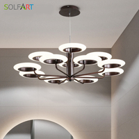 Chandeliers and Pendants for Room Dining LEB Loft Lamps Modern Hanging Chandelier Ceiling Pendant Lamp Home Table
