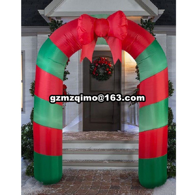 9fth advertising inflatable christmas archeschristmas inflatable archinflatable christmas decorations arch - Christmas Arch Decorations