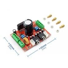 Ateş sınıfı TDA7850 güç amplifikatörü kurulu 4 kanal araba güç amplifikatörü kurulu 4X50W BA3121 gürültü azaltma