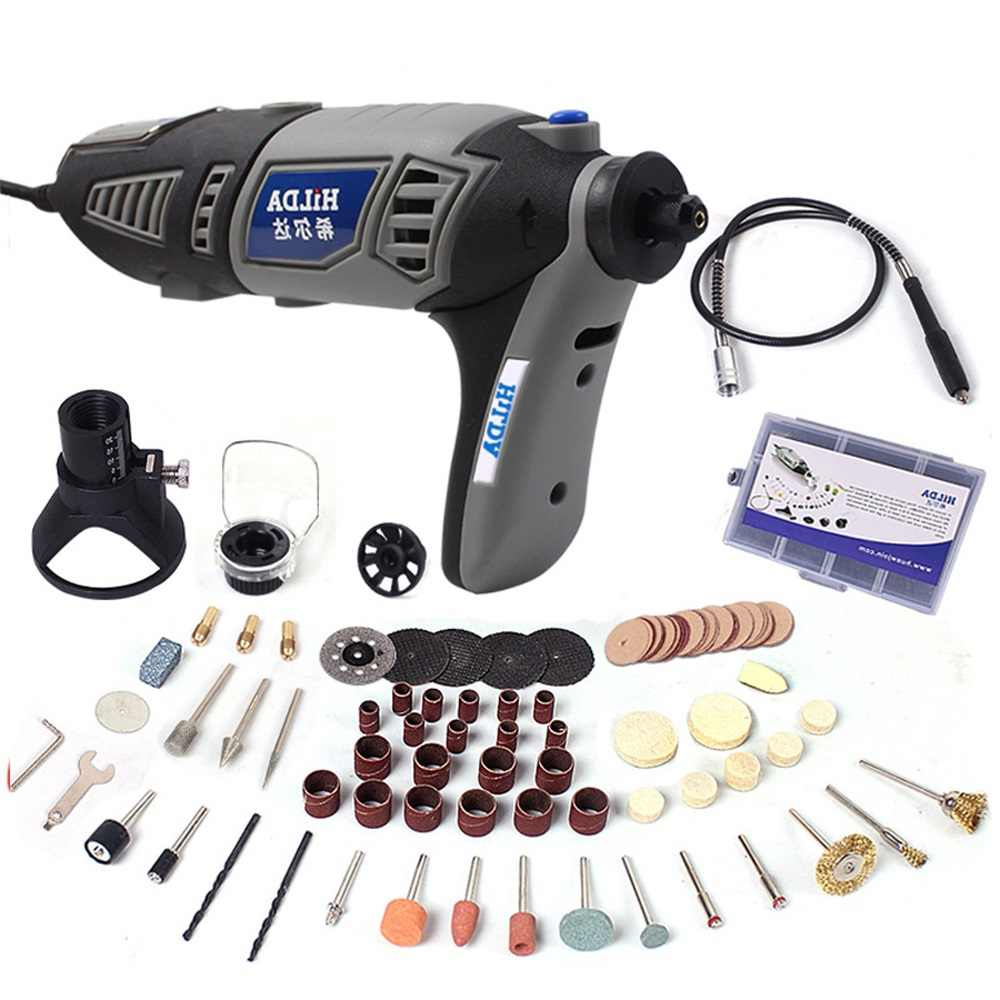 220V 180W Elektrische Mini Boor Set Rotary Tool Kit Variabele Snelheid Graveur Elektrische Polijsten Set Grinder