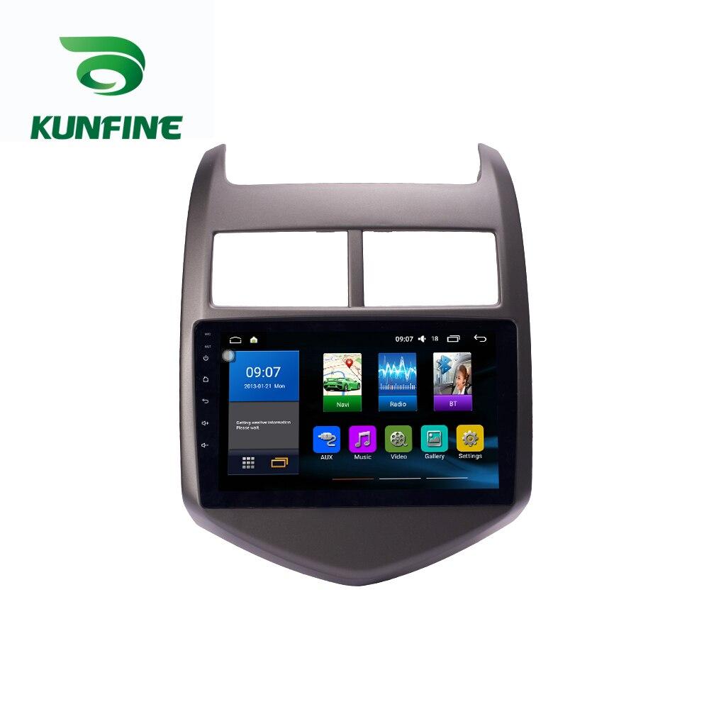Octa Core 1024*600 Android 7.1 Car DVD GPS di Navigazione Lettore Deckless Auto Stereo per Chevrolet AVEO 2011- 2013 Radio Headunit