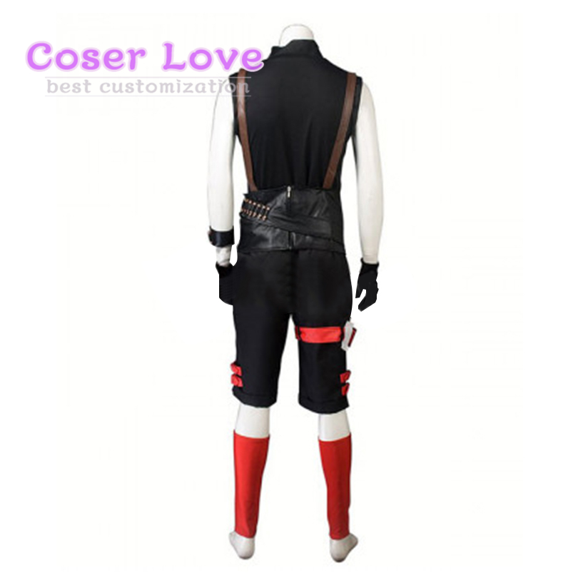 RWBY Red Ruby Rose Male Cosplay costume Carnaval New Years Christmas Halloween Costume