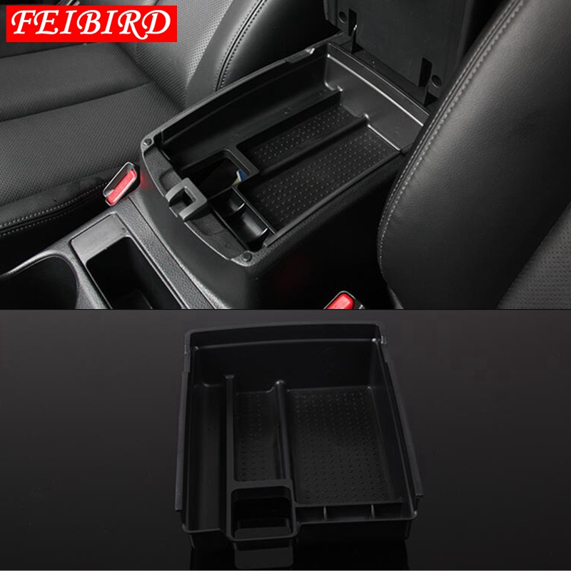 Image 4 - For Nissan X Trail X Trail T32 Rogue 2014   2018 Black Central Console Multifunction Storage Box Phone Tray Accessory-in Chromium Styling from Automobiles & Motorcycles