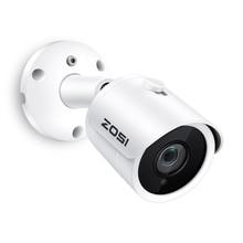 ZOSI IP 카메라 PoE 4MP/5MP 슈퍼 HD 야외/실내 방수 적외선 야간 ONVIF 보안 비디오 감시