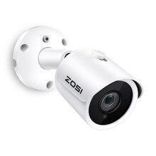 Zosi câmera de vigilância de vídeo onvif, ip poe 4mp/5mp super hd externa/interna à prova d água visão noturna infravermelho