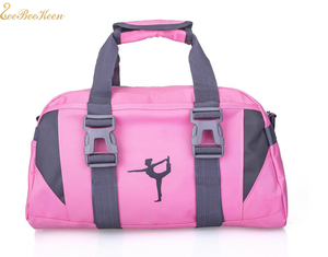 Image 2 - ผู้ใหญ่บัลเล่ต์ยิมนาสติกกีฬาโยคะสำหรับสาวกระเป๋าถือ Crossbody ผ้าใบขนาดใหญ่ความจุกระเป๋าเด็กเต้นรำบัลเล่ต์กระเป๋าผู้หญิง