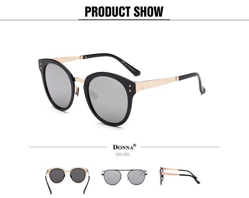 22d5261a09 Donna Fashion Sunglasses Women Luxury Brand Designer Vintage Sun ...
