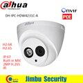 Ipc-hdw4231c-a dahua ip câmera de 2mp full hd 1080 p segurança h.265 Câmera de rede IR Suporte POE e Onvif Com Áudio Embutido MIC