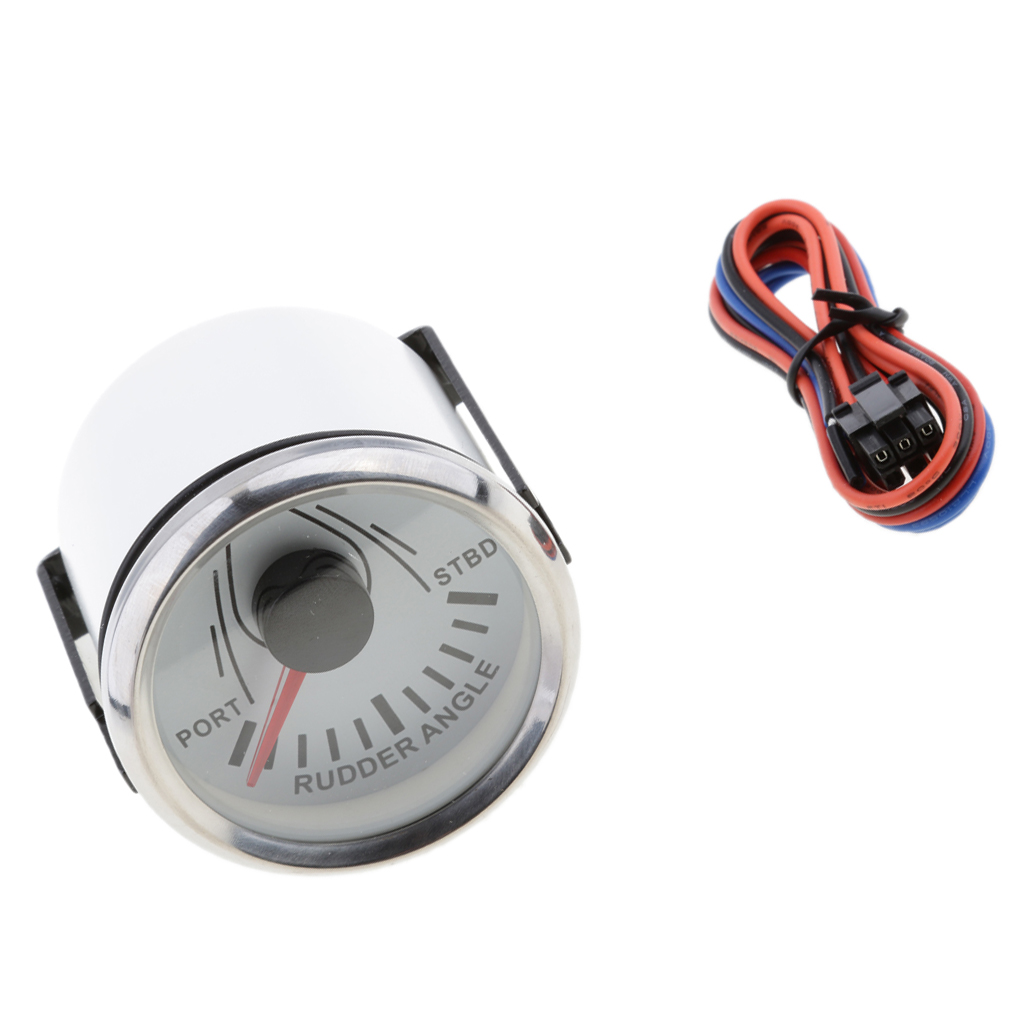 Image 5 - Marine Rudder Angle Gauge With Mating Sensor 0 190 52mm 900 00074-in Marine Hardware from Automobiles & Motorcycles