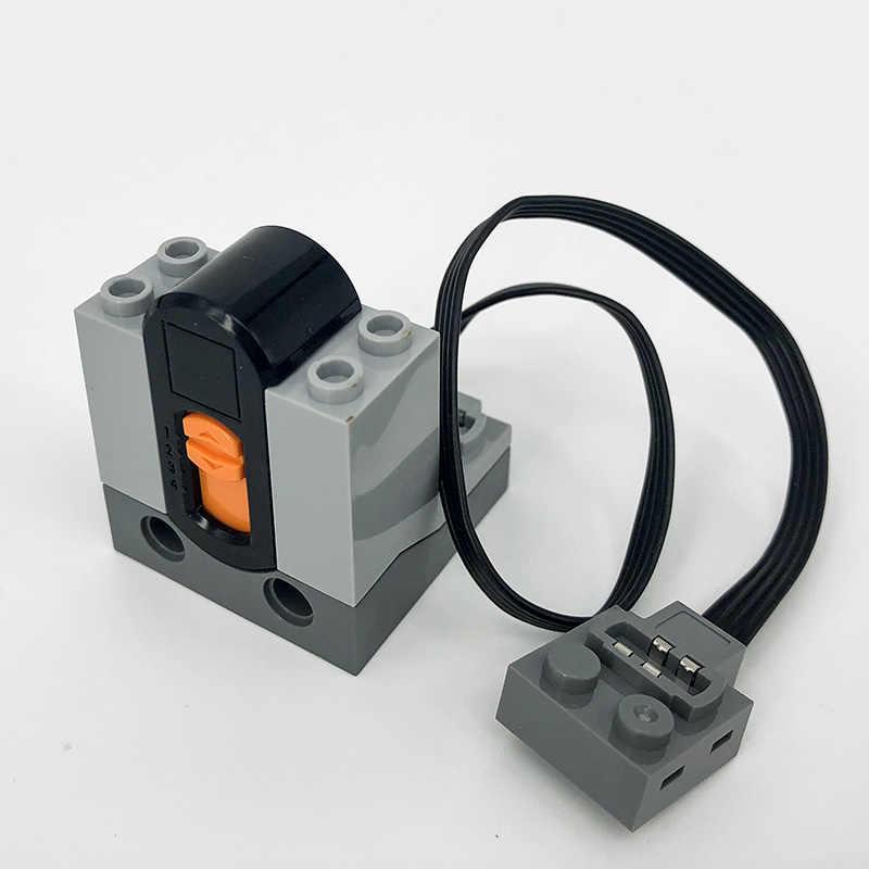 Technic części kompatybilne lego wielu funkcje zasilania narzędzie serwo blocks miasto pociąg elektryczny moto moto r zestawy modeli budynku zestawy