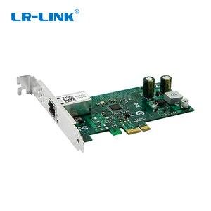 Image 2 - LR LINK 2001PT POE جيجابت إيثرنت POE + الإطار المنتزع PCI اكسبرس 1xRJ45 محول الشبكة الصناعية مجلس الفيديو بطاقة إنتل I210