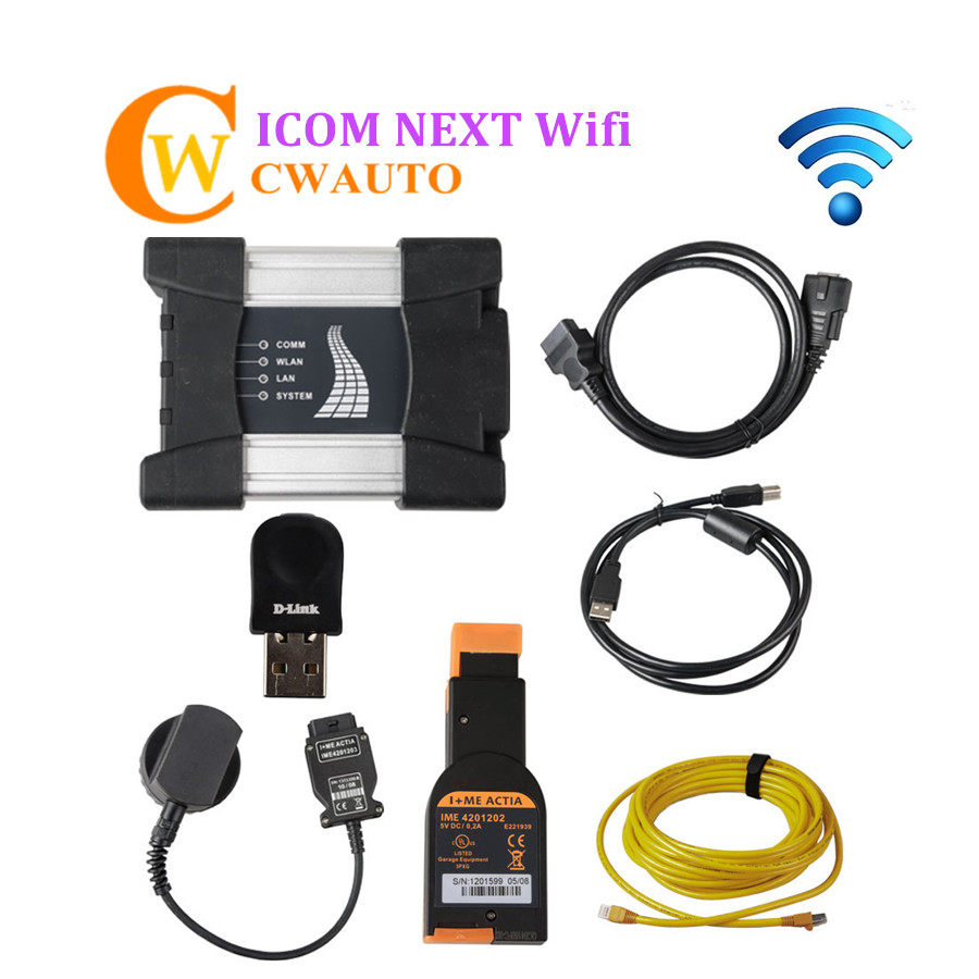 Best Wifi ICOM NEXT A + B + C New Generation of ICOM A2 Diagnostic Interface Free Shipping