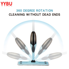 YYBU 500ML Home Spray Mop Floor Cleaning Steam Cleaner Automatic Flat Tool House Microfiber Cloth