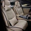 Linho de alta qualidade tampa de assento do carro Universal para Ford mondeo Foco Fiesta S-MAX Borda Explorador Taurus dedicado acessórios do carro
