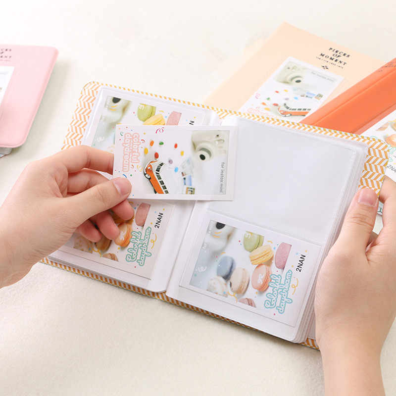 64 Pockets Mini Instant  Photo Album Picture Case Storage for Fujifilm Instax Mini Film 7s 8 Korea instax mini album