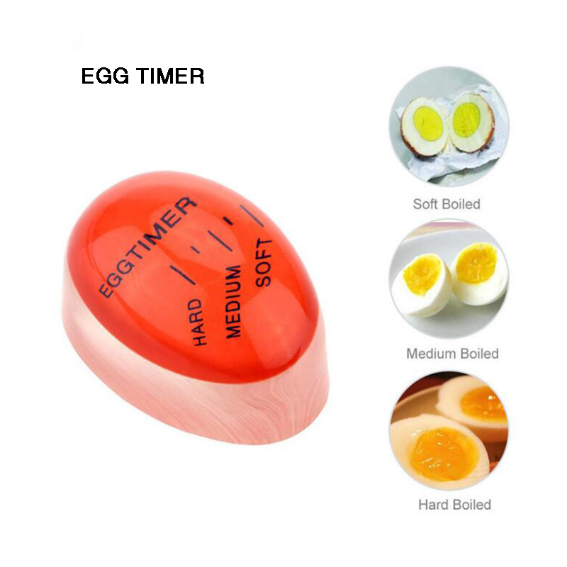 Kitchen Egg Timer Eggtimer Creative Red Food Grade Eco