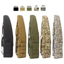 100 CENTÍMETROS Jogo de Guerra Militar Tático Saco De Arma De deslizamento Durável Resistente À Água Equipamento de Caça Caso sacos de Arma Rifle de Ar saco de proteção