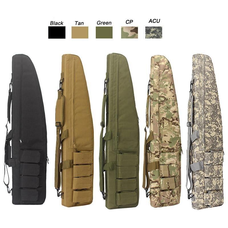 100 CM jeu de guerre militaire tactique pistolet sac slip Durable résistant à l'eau équipement de chasse pistolet sacs Air mallette à fusil sac de Protection