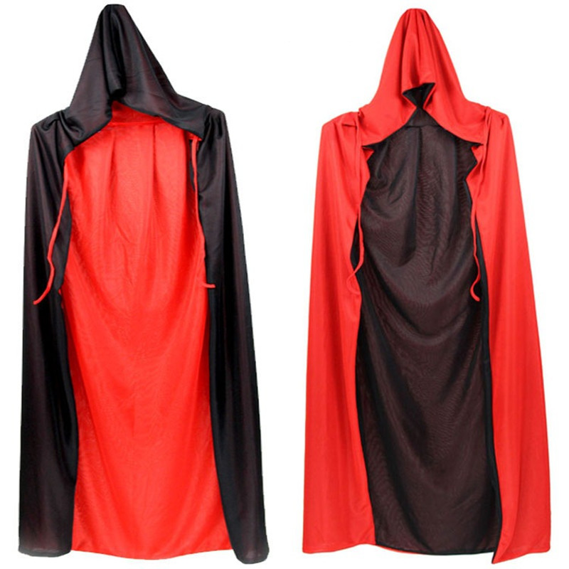 Anime Bleach Cosplay Black Shinigami Death Kimono Halloween adult men and women Two-sided pros and cons with black cloaked cape