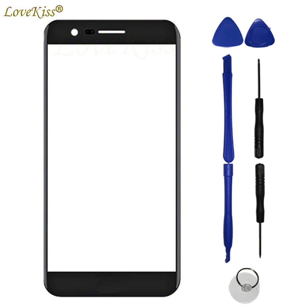 M250N Front Panel For LG K10 2017 K 10 X400 K20 Plus LV5 M250 Touch Screen Sensor LCD Display Digitizer Glass Cover Replacement