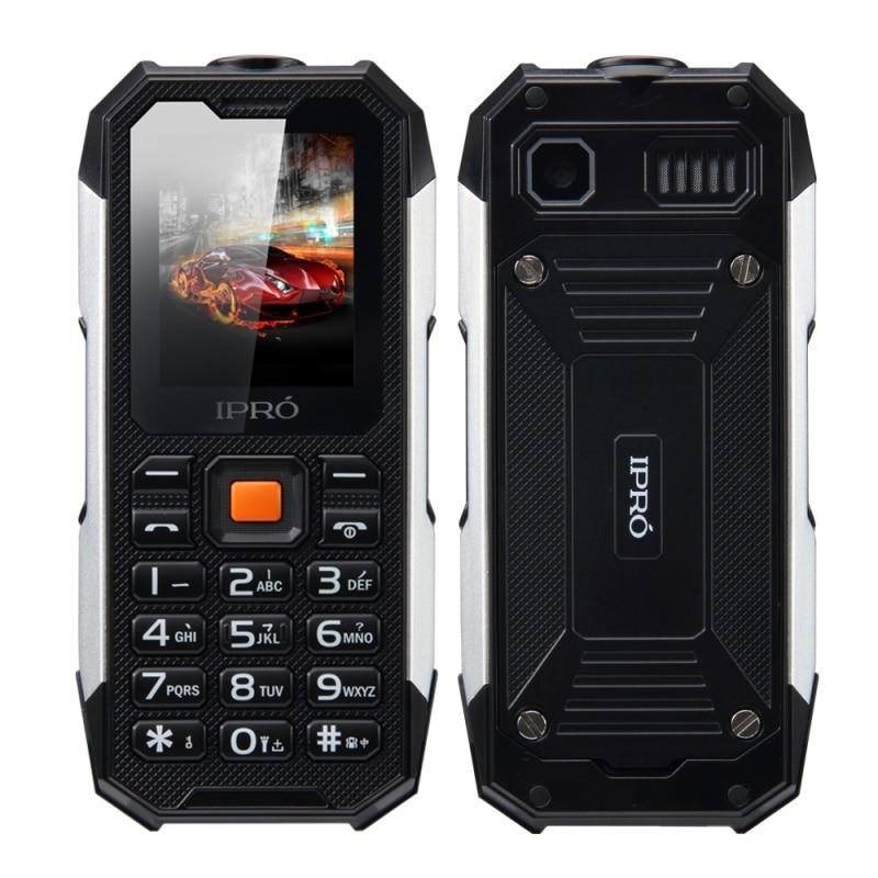 2017 IPRO Waterproof Dustproof Shockproof Rugged Cell Phone I3208 Unlocked Dual SIM 2500mAh FM Bluetooth Flashlight