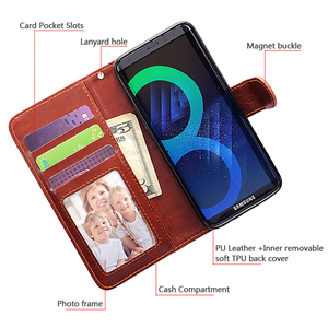 Image 3 - For Samsung NOTE 10+ Case Flip Cover 2 in 1 Detachable Wallet PU Leather Case For S8 Plus S9 S9+ S10 S10 +  S10E NOTE 9/NOTE 10+