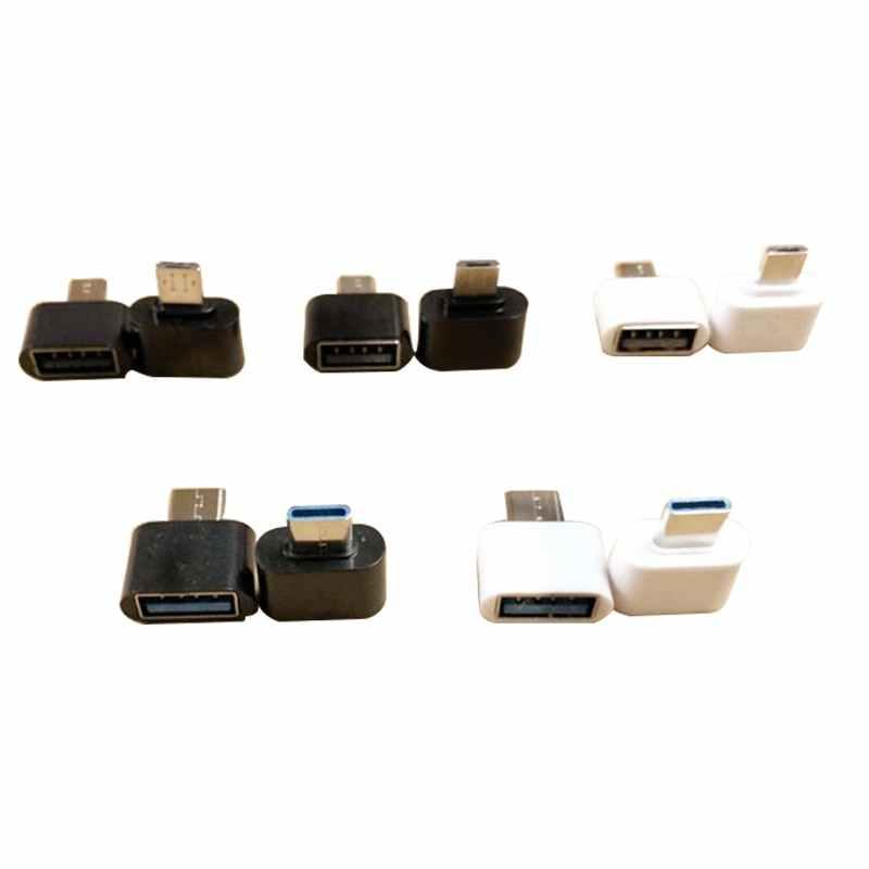 1 Uds. Conectores Mini tipo C y micro USB lector multifunción de disco U para teléfono Android y ratón para tablet teclado 7