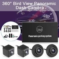 Bird View System Universal 4 Camera Car DVR Recording Parking Rear View Camera Universal HD Camera With Night Vision