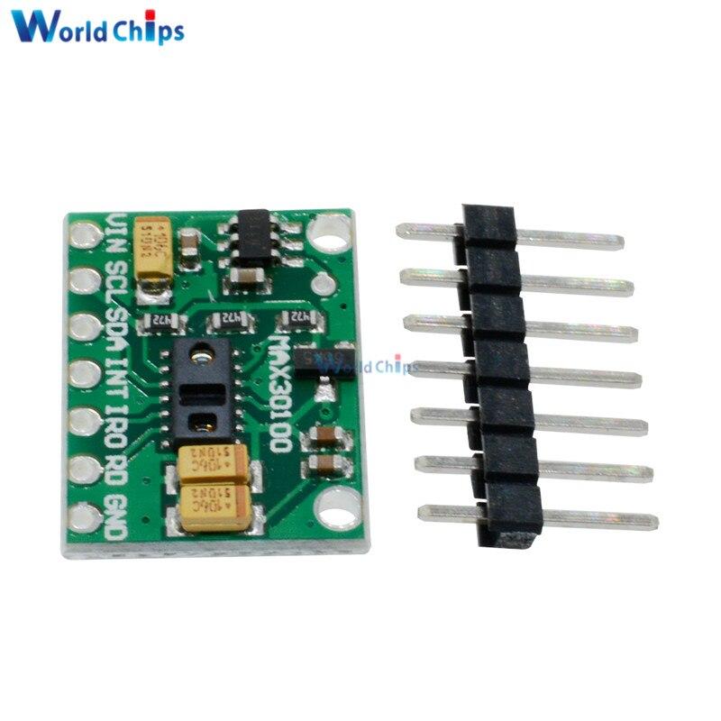 Trend Mark Max30100 Hartslag Klik Oximeter Pulse Sensor Pulsesensor Module Voor Arduino