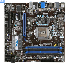 original desktop motherboard for MSI H55M-P31 LGA 1156 DDR3 for i3 i5 i7 cpu 16G VGA H55 motherboard free shipping