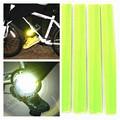 4 pcs Noite Tornozelo Reflexivo Cinto Esportes Biking Armband Visível Tapa Pulseiras/braceletes