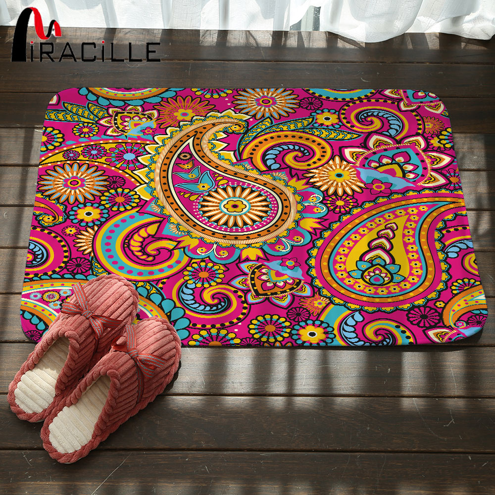 Miracille C Fleece Bohemian Paisley