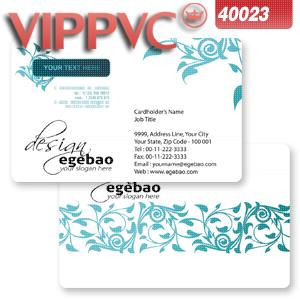 a40023 PVC white plastic Card 0.38mm for Printing business card template