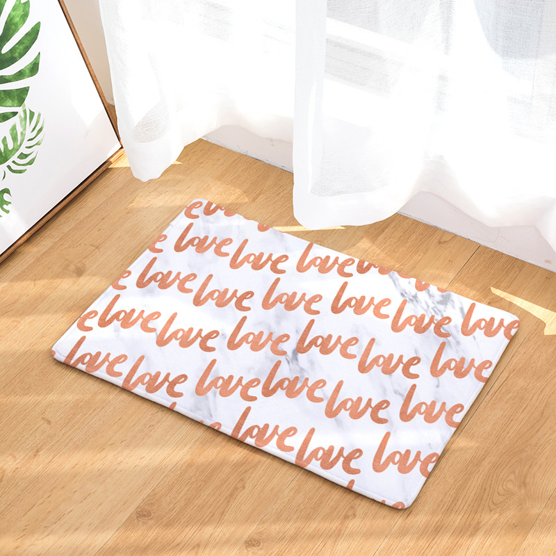 CAMMITEVER Marble Letters Area Rug For Living Room Kids Bedroom Computer Chair Area Rug Children Play Tent Floor Mat Cloakroom