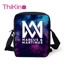 Thikin Marcus And Martinus Shoulder Messenger Bag Coin Purse Girls Crossbody Phone Shopping Bags Mochila Infantil