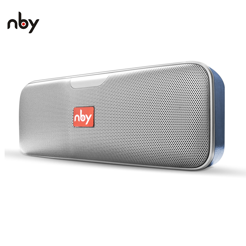NBY 3040 Bluetooth Speaker Portable Wireless Speaker Sound System 10W Stereo Music Surround with Built-in Mic for Phone mifa a10 bluetooth speaker wireless portable stereo sound big power 10w system mp3 music audio aux with mic for android iphone
