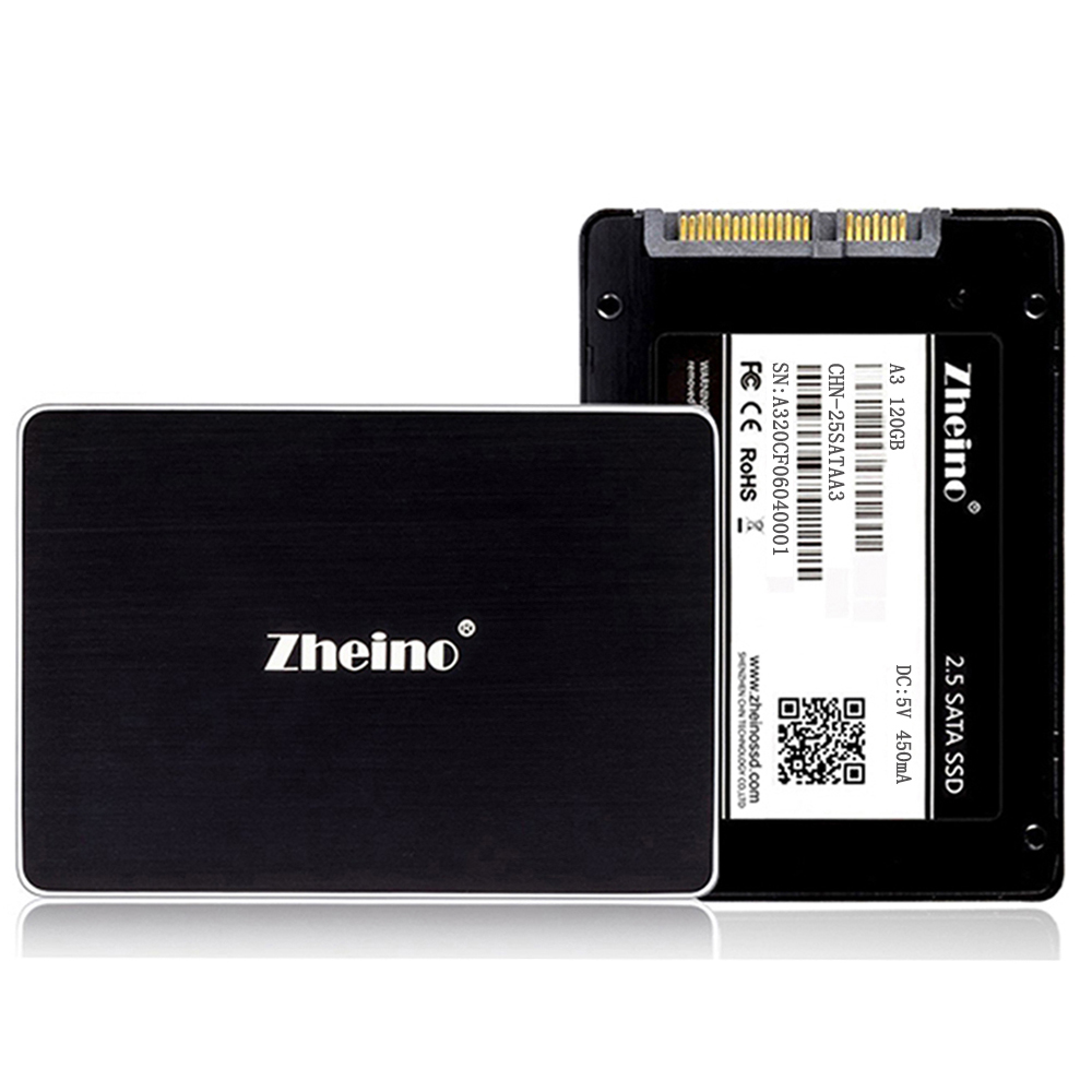 (A3-120GB) Zheino SSD SATAIII Solid State Drive 6Gbps 3D Nand Flash For PC Laptop Desktop zheino a3 480gb ssd sataiii solid state drive disk 6gb sinternal solid state disk ssd for laptop desktop