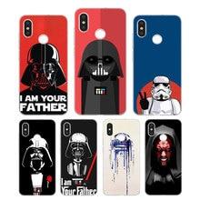 Silicone Phone Case Star wars Fashion Printing for Xiaomi Mi 6 8 9 SE A1 5X A2 6X Mix 3 Play F1 Pro 8 Lite Cover погремушки умка с прорезывателем котик