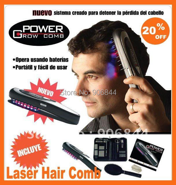 Laser Hair Comb Breakthrough Hair LASER Treatment Brand free shipping New Hot Power Grow Comb