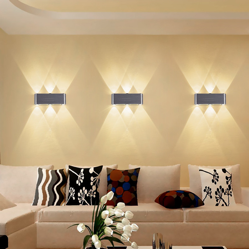 lights wall living led bedroom decorative modern lamp background creative hotel minimalist interior ktv engineering lamps well lighting illuminate different