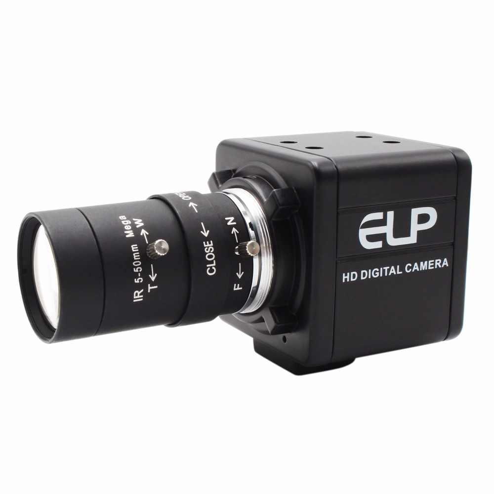 2,0 мегапикселя full hd MJPEG 30fps 60fps Цвет Cmos OV2710 5-50 мм безопасности эксплуатации зум-объектив cctv-камеры USB Камера 1080 P