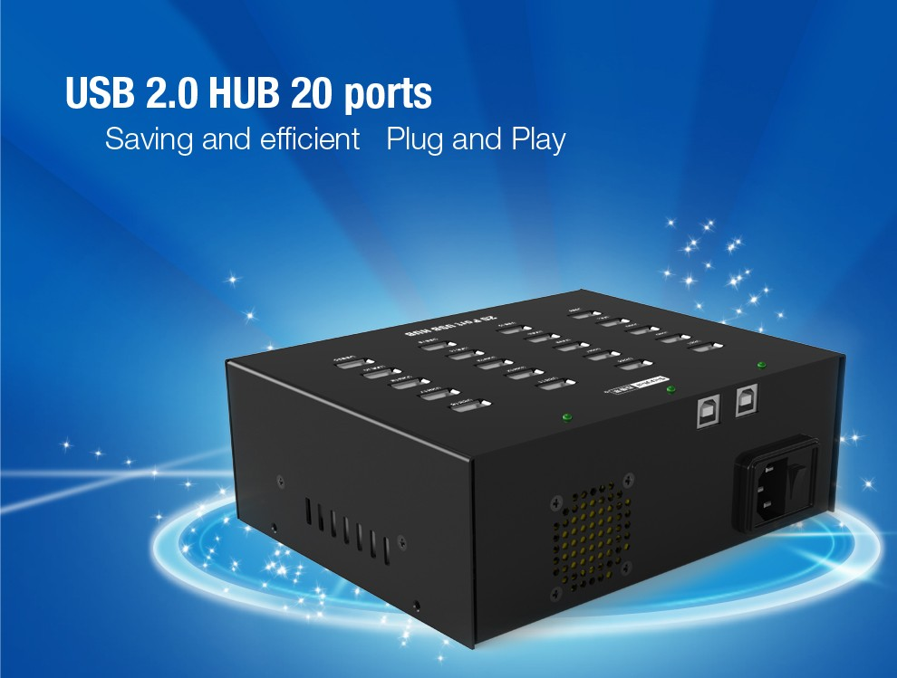 usb hub 20 port